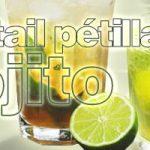 cocktail pétillant mojito prêt